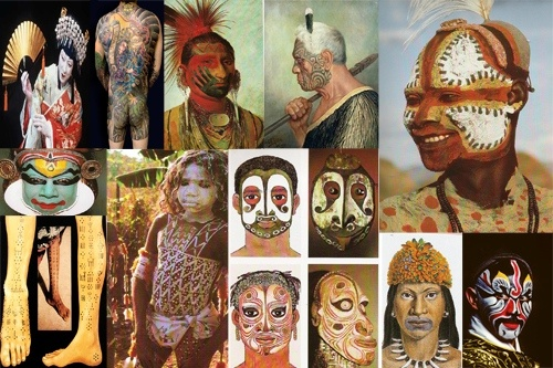 Bodypainting History part 1