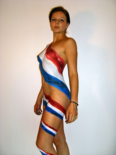 body-painting-drapeau-france