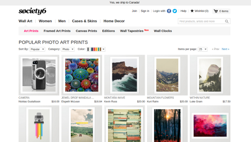 society6-vendre-photographies